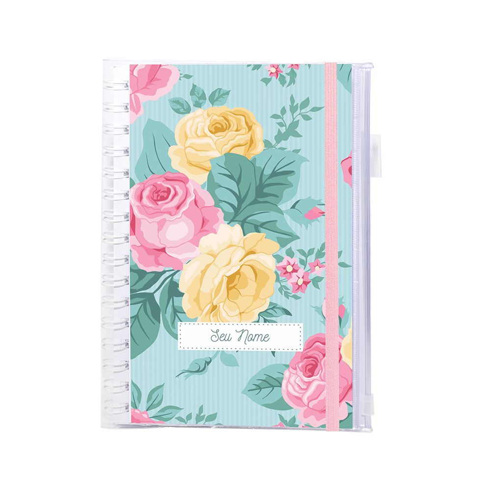 Planner Financeiro Delicate Roses