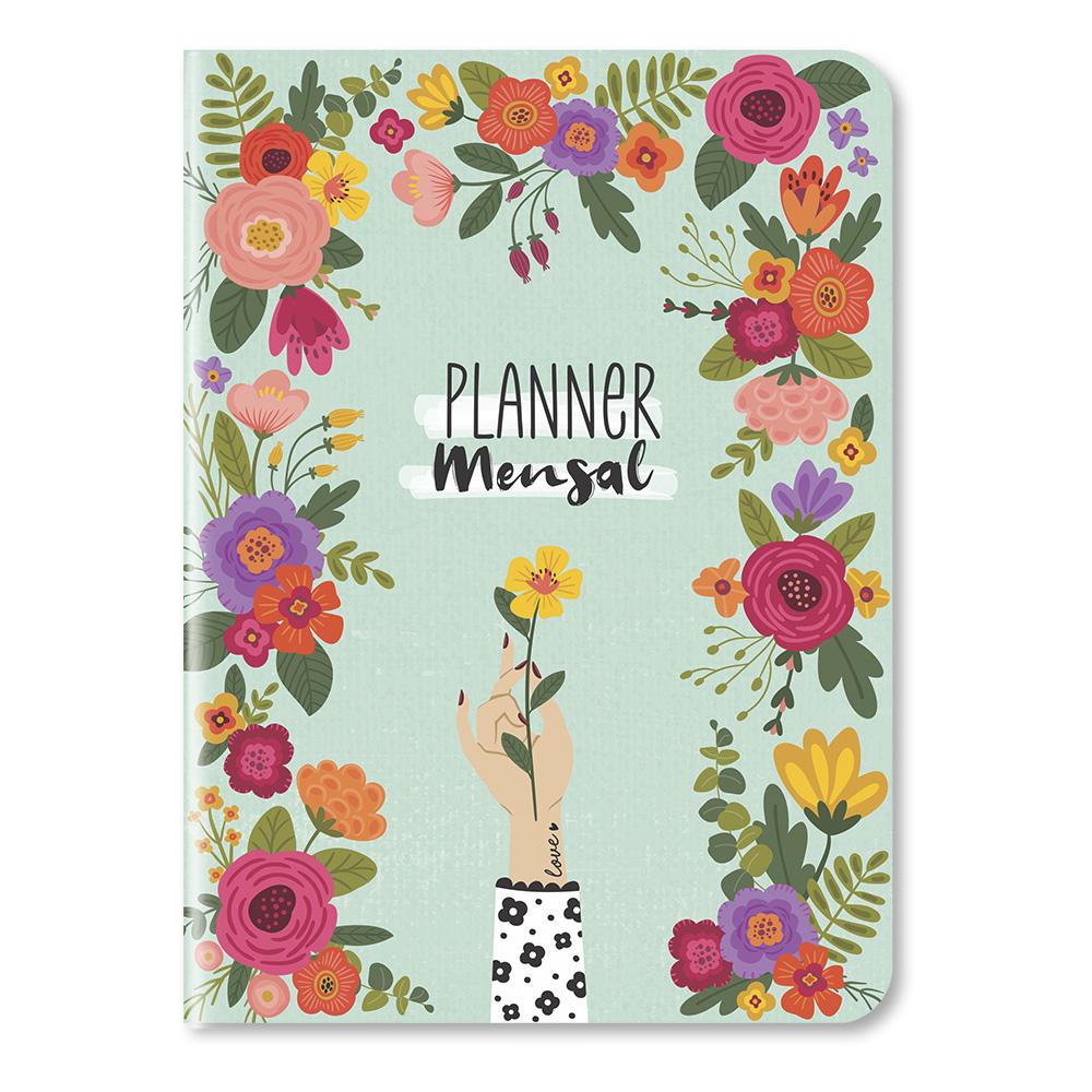 Planner Mensal Florir