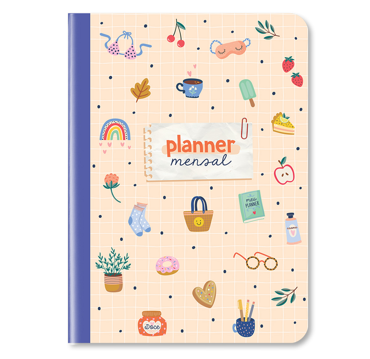 Planner Mensal Happy Time