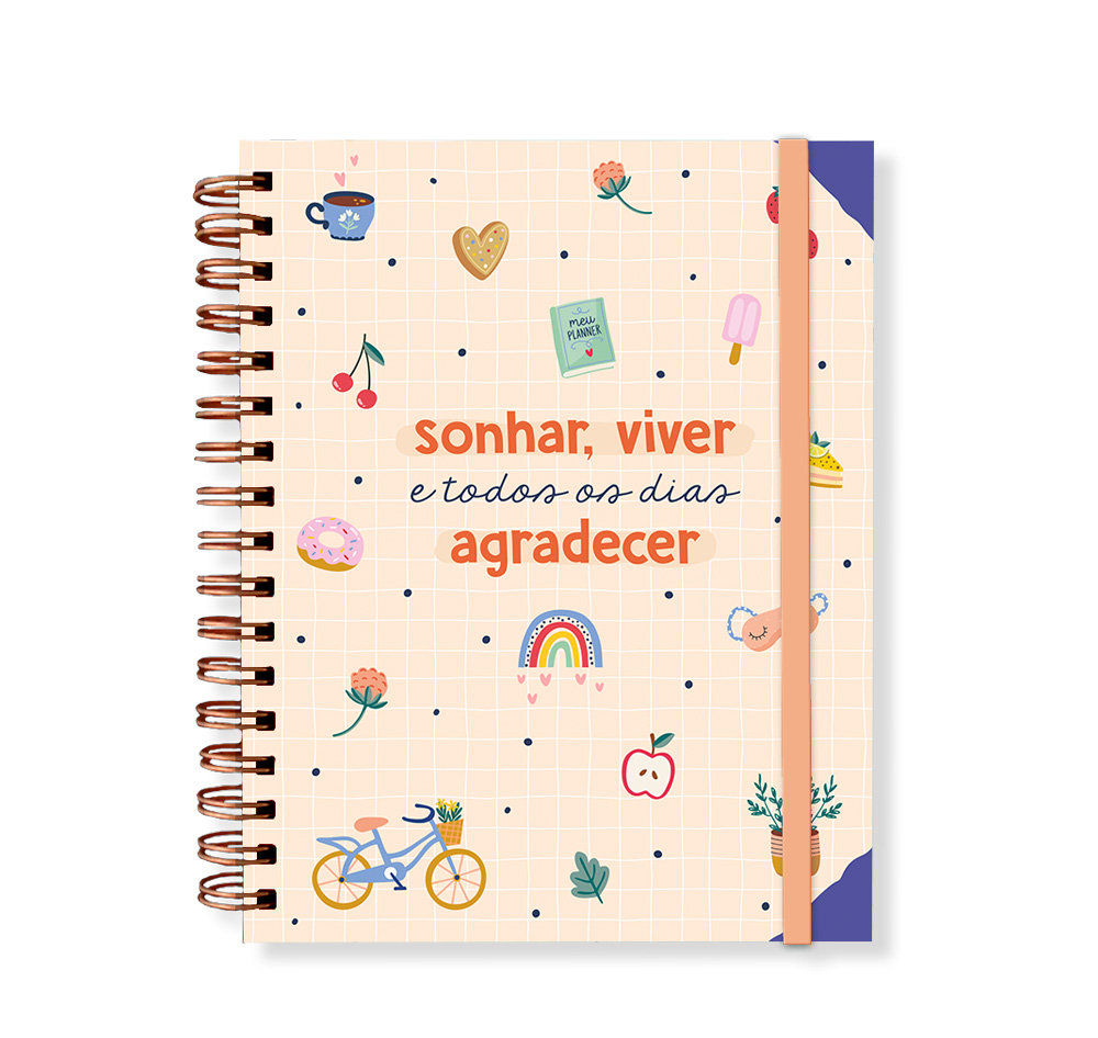 Planner Anual Permanente Happy Time