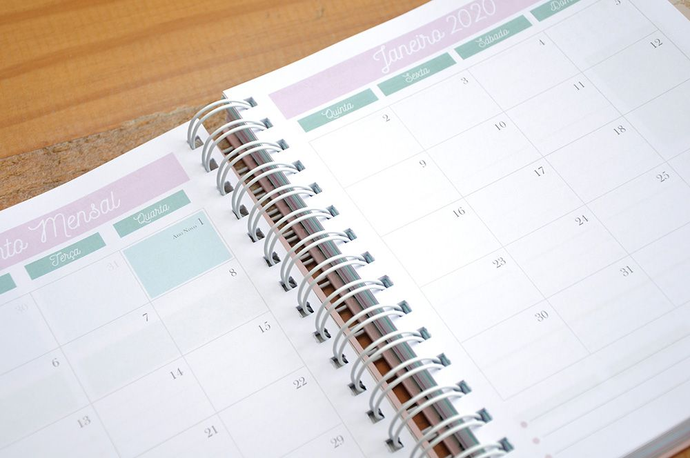 Planner Soft Butterfly