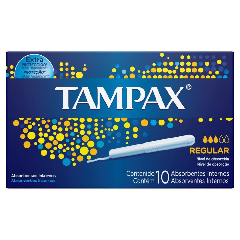 Absorvente Interno Tampax Médio - 10 unidades