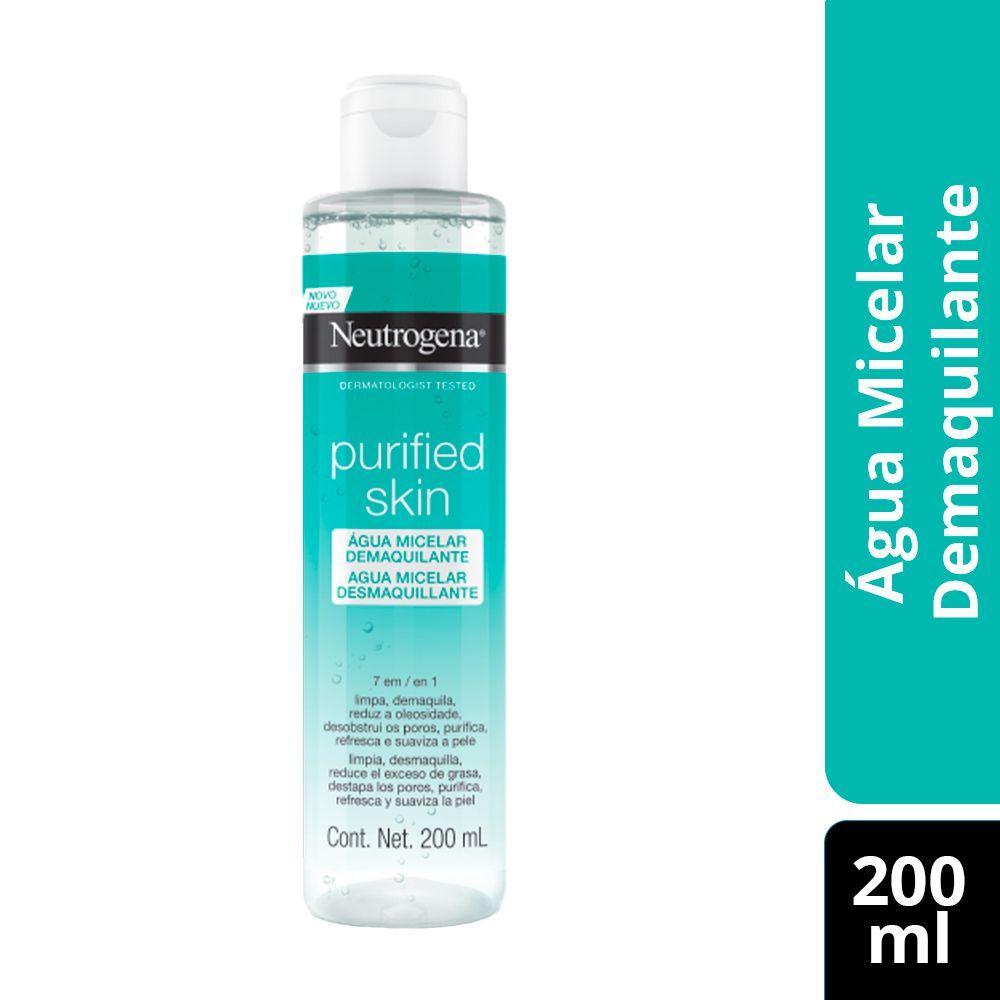 Água Micelar Neutrogena Purified Skin 7 em 1 200mL
