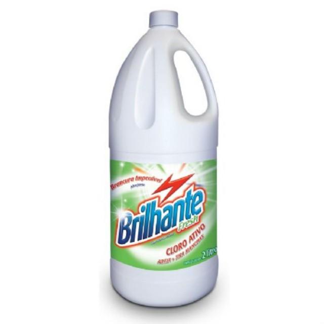 Alvejante Brilhante Tira-Manchas Fresh Com Cloro 2l