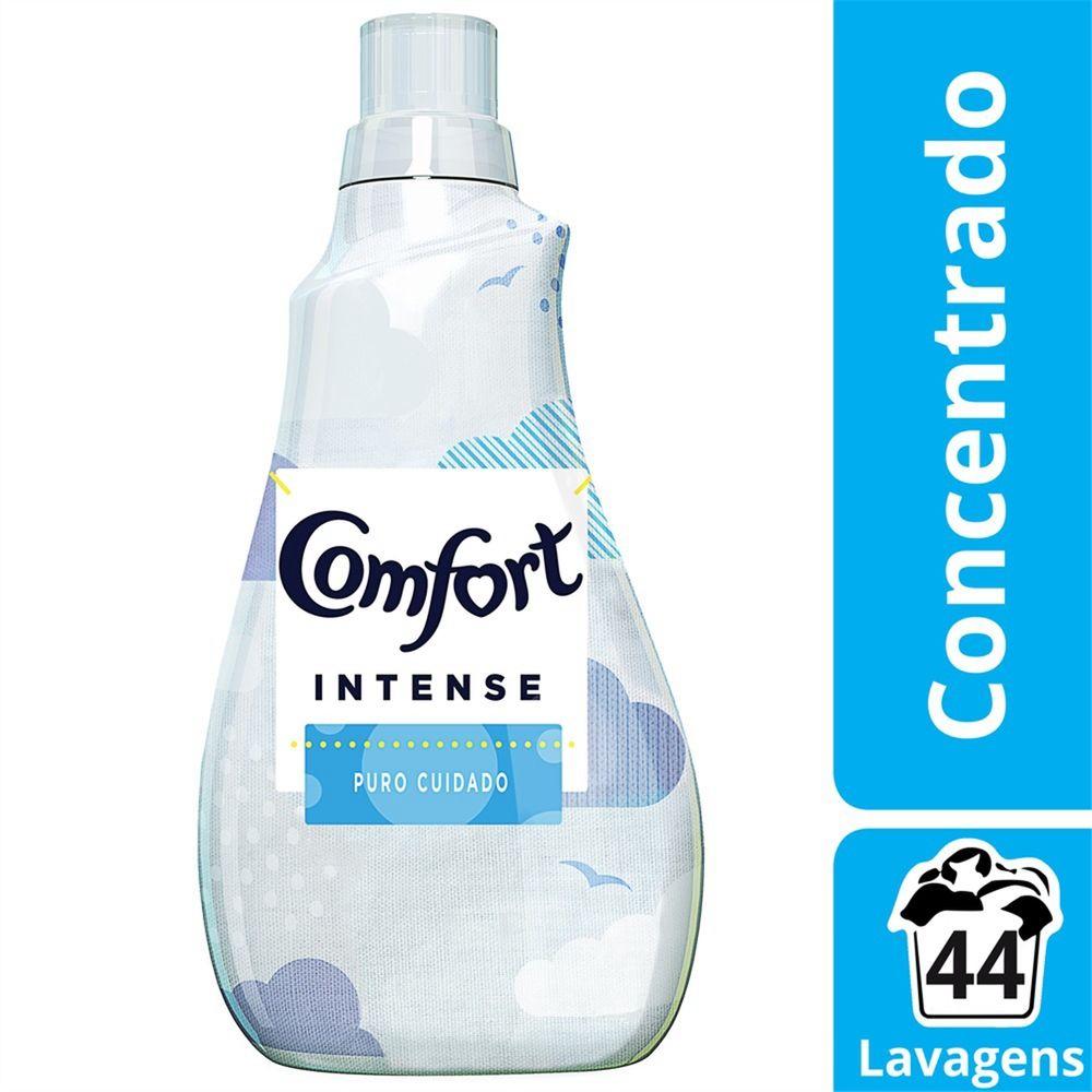 Amaciante Comfort Concentrado Puro Cuidado 1l