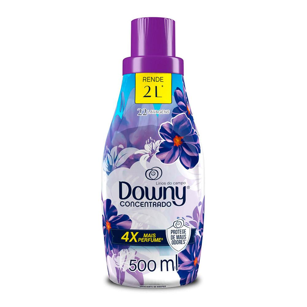 Amaciante Concentrado Downy Lírios do Campo - 500ml