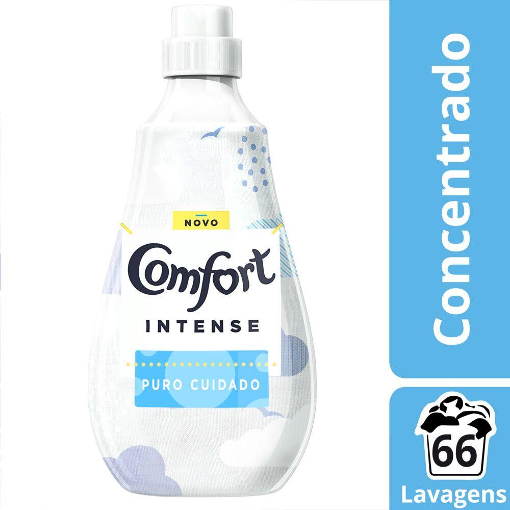 Amaciante de Roupa Comfort Concentrado Puro Cuidado Intense 1,5l