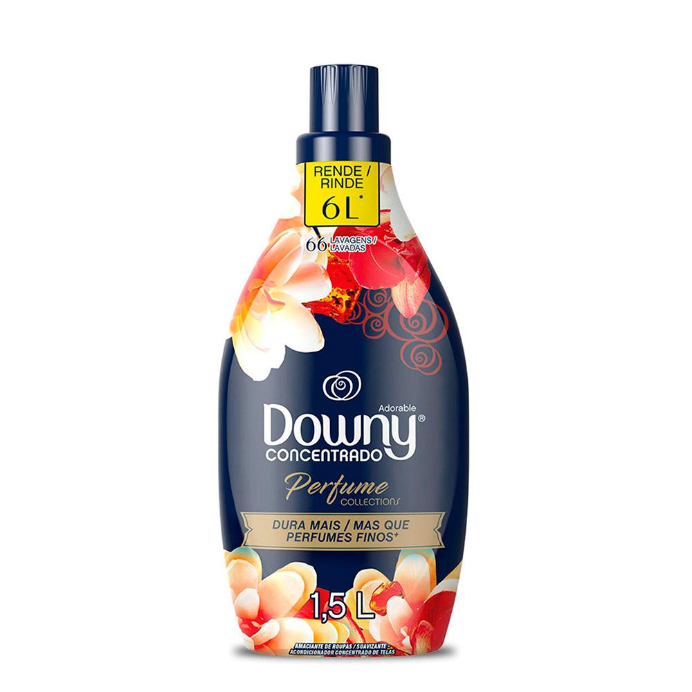 Amaciante Concentrado Perfume Collections Downy Adorable - 1,5L