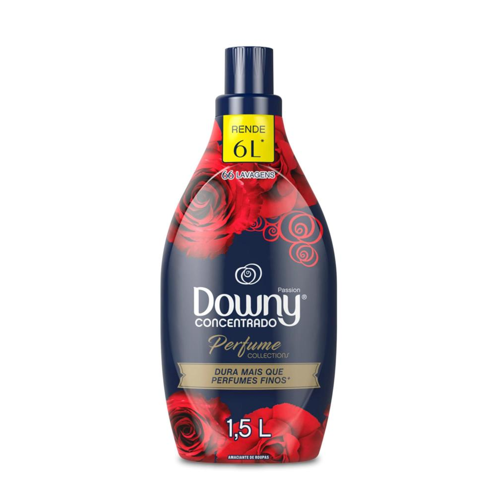 Amaciante Concentrado Perfume Collections Downy Passion - 1,5L