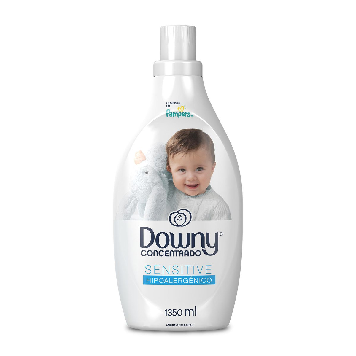 Amaciante Downy Concentrado Sensitive Hipoalergênico 1,35l