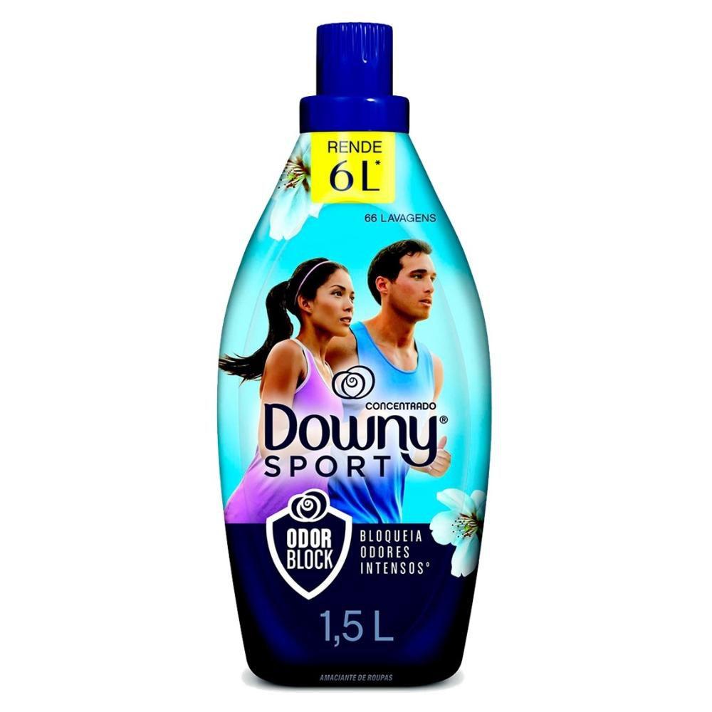 Amaciante Downy Concentrado Sport Odor Block 1,5L