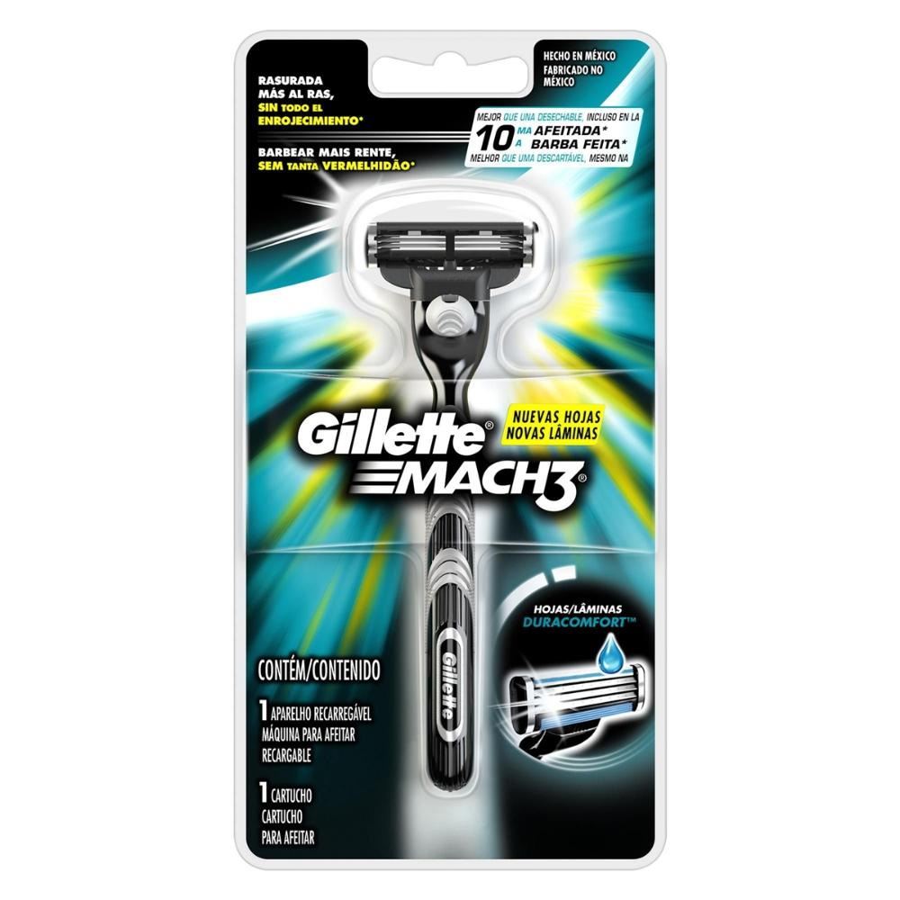Aparelho de Barbear Gillette Mach3