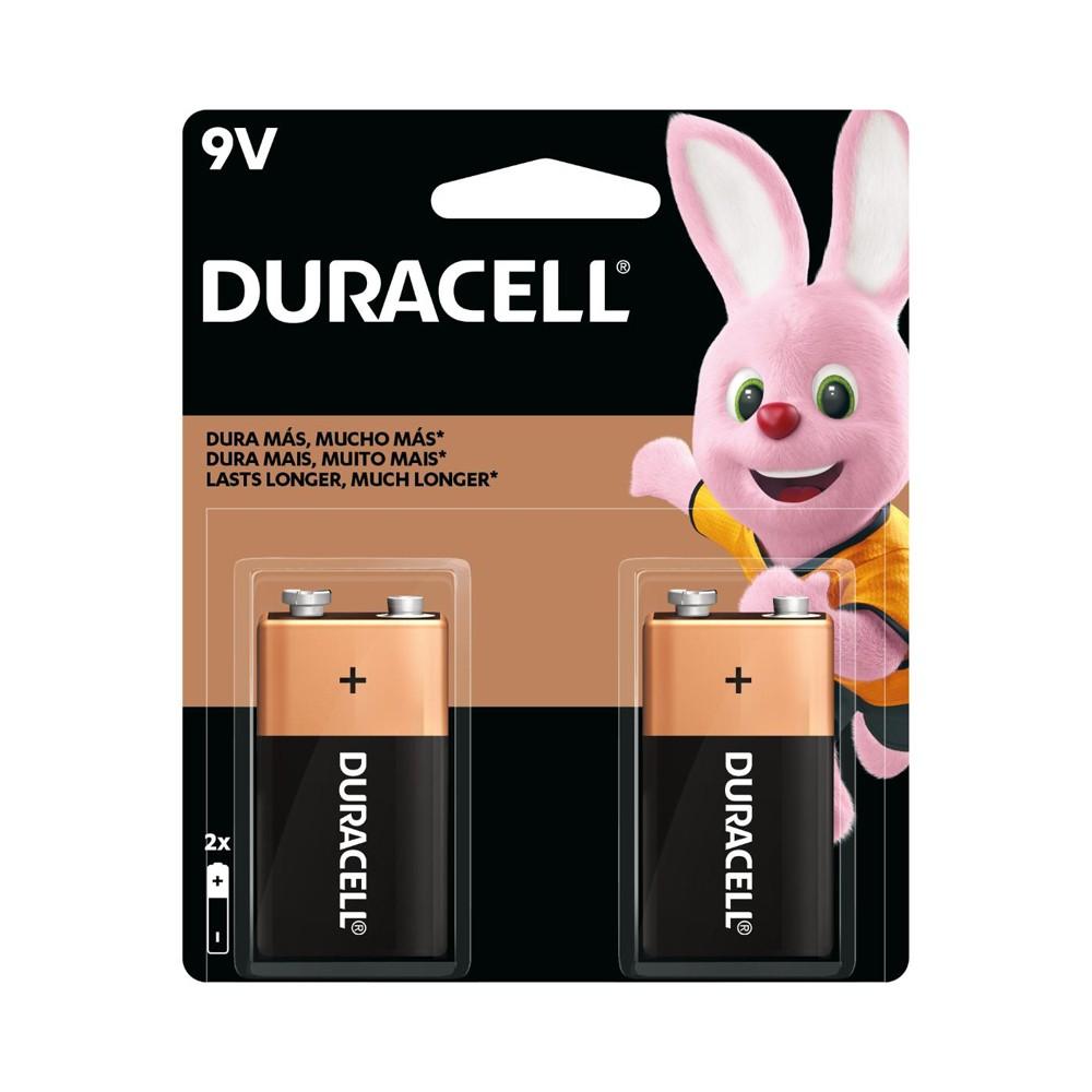 Bateria Duracell  c/ 2 Unidades 9v