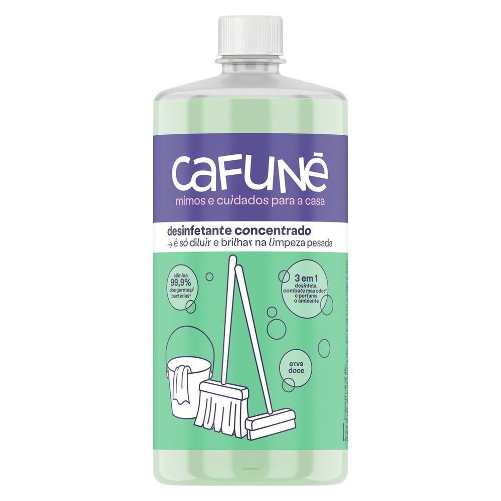 Desinfetante Concentrado Cafuné Erva-Doce 1L