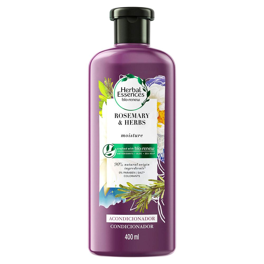 Condicionador Herbal Essences Bio Renew Alecrim e Ervas 400ml
