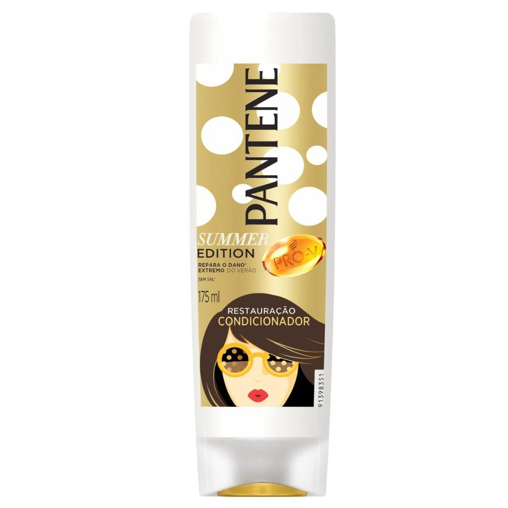 Condicionador Pantene Restauração Summer Edition 175mL