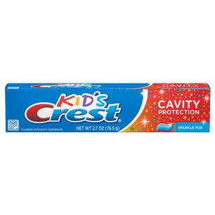 Creme Dental Crest Kids Cavity Protection Sparkle Fun 130g
