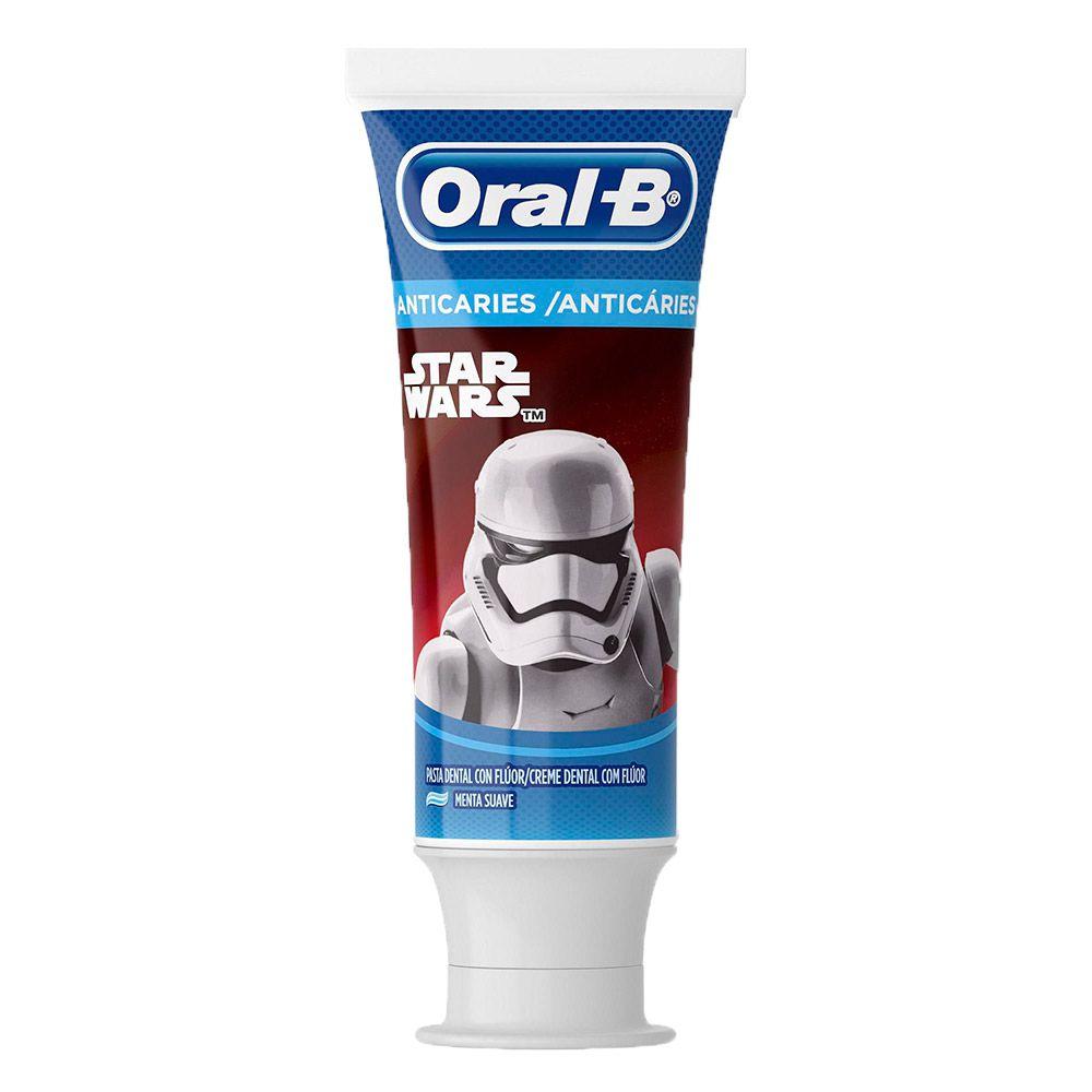 Creme Dental Infantil Oral-B Pro-Saúde Stages Star Wars 75ml