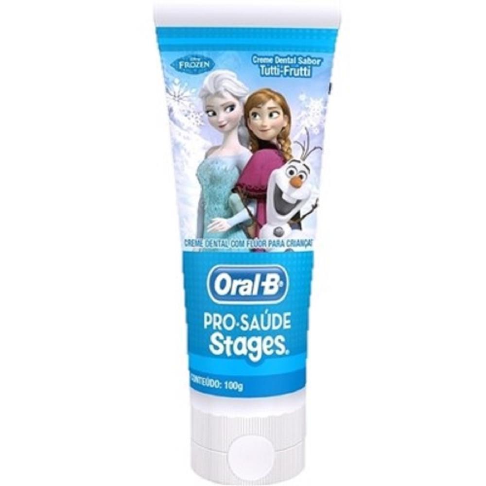 Creme Dental Infantil Oral-B Stages Frozen 75mL