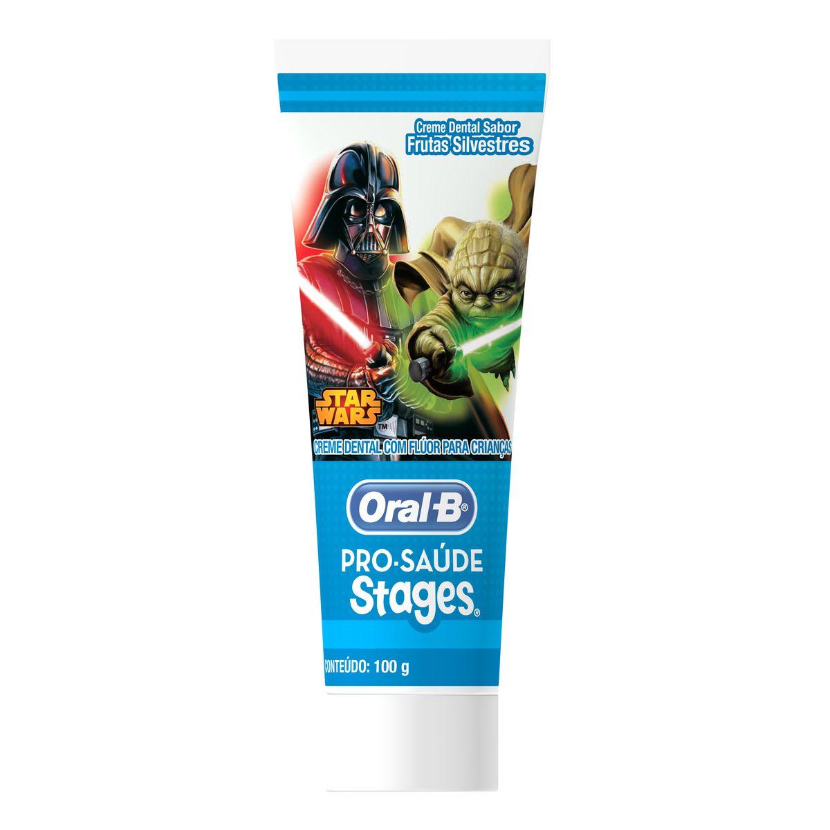 Creme Dental Infantil Oral-B Stages Star Wars 75mL
