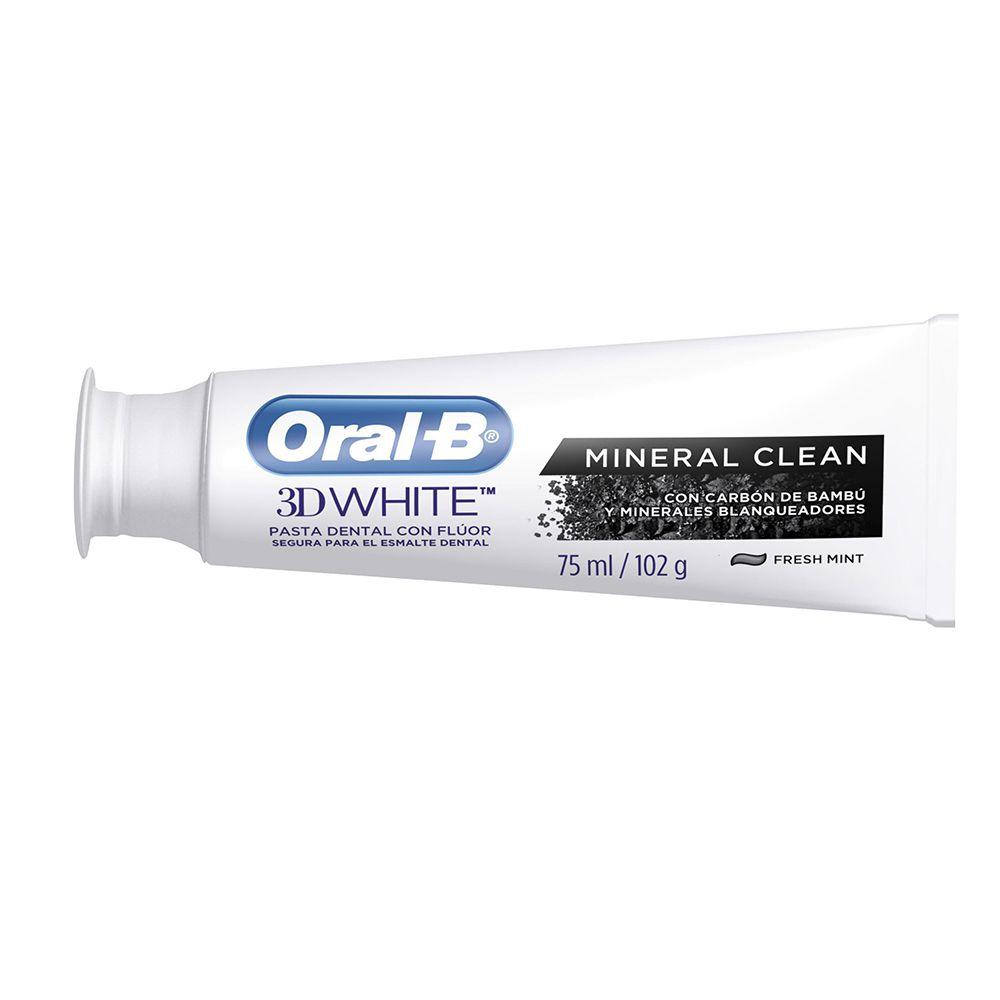 Creme Dental Oral-B 3D White Mineral Clean Fresh Mint 102g