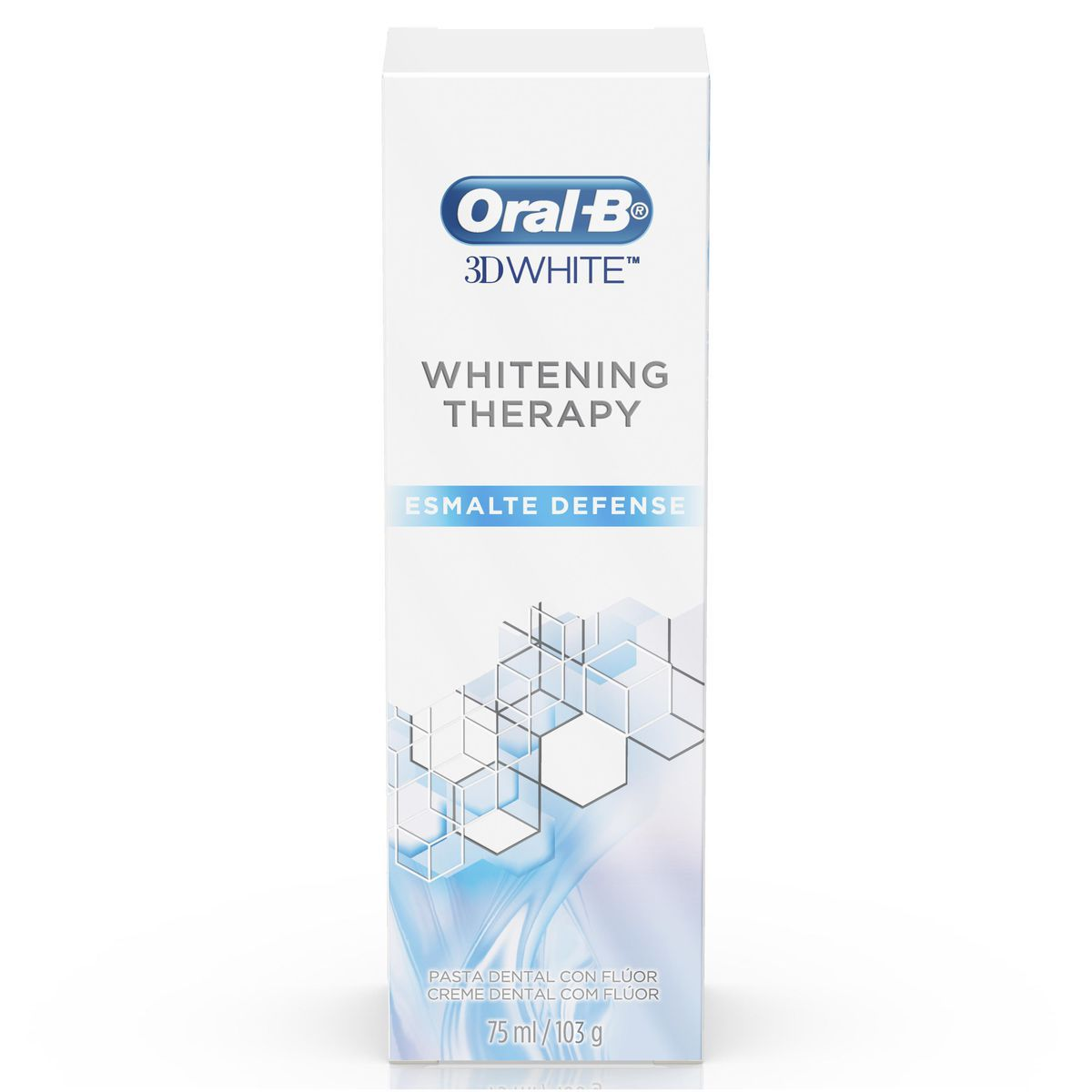 Creme Dental Oral-B 3D Whitening Therapy Esmalte Defense 103g