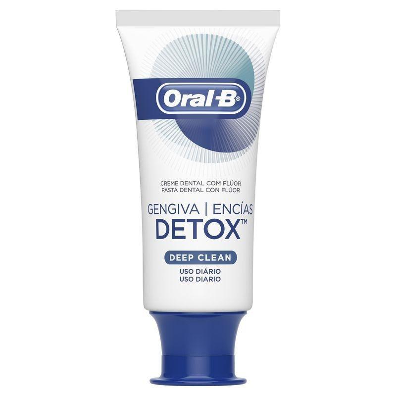 Creme Dental Oral-B Gengiva Detox Deep Clean 102g