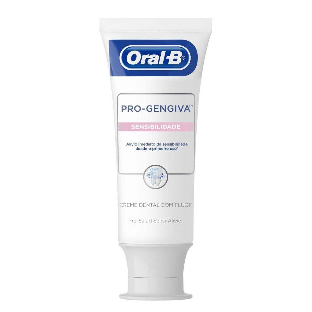 Creme Dental Oral-B Pro-Gengiva Sensibilidade 90g