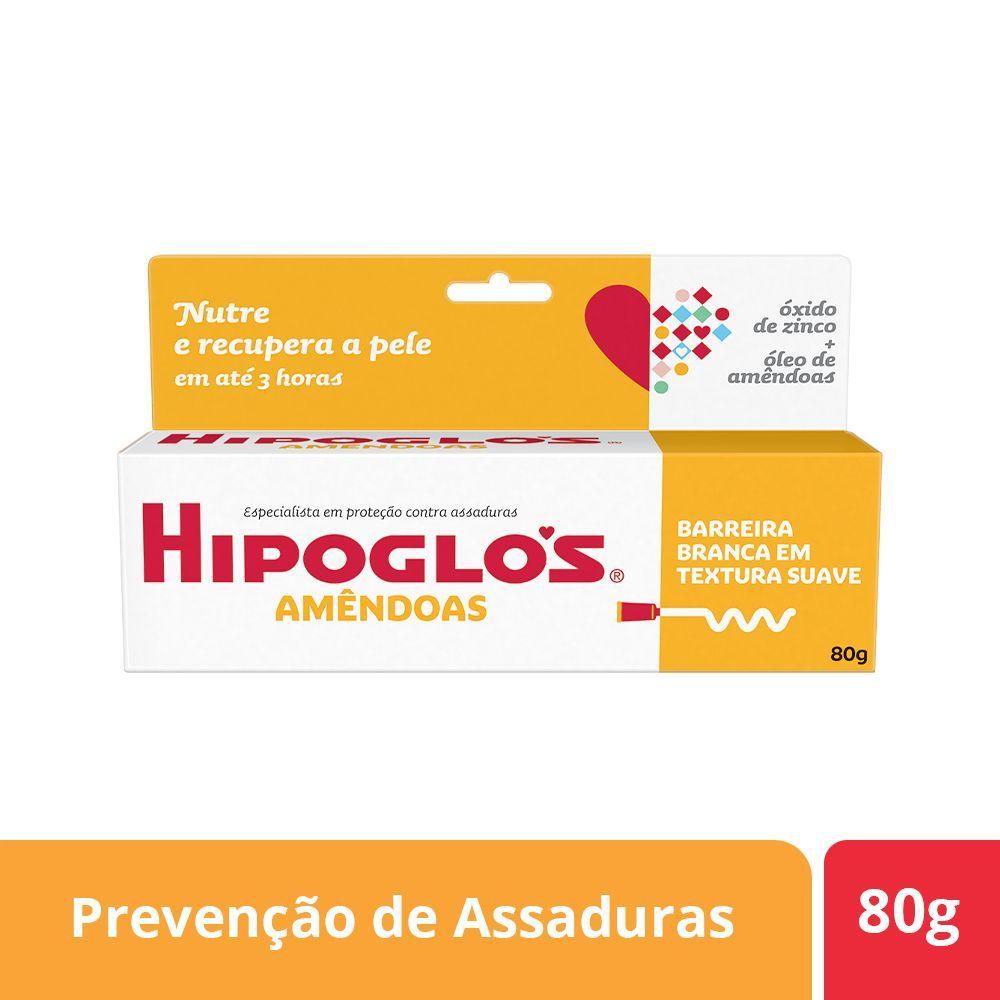 Creme Preventivo Contra Assaduras Hipoglós Amêndoas 80g