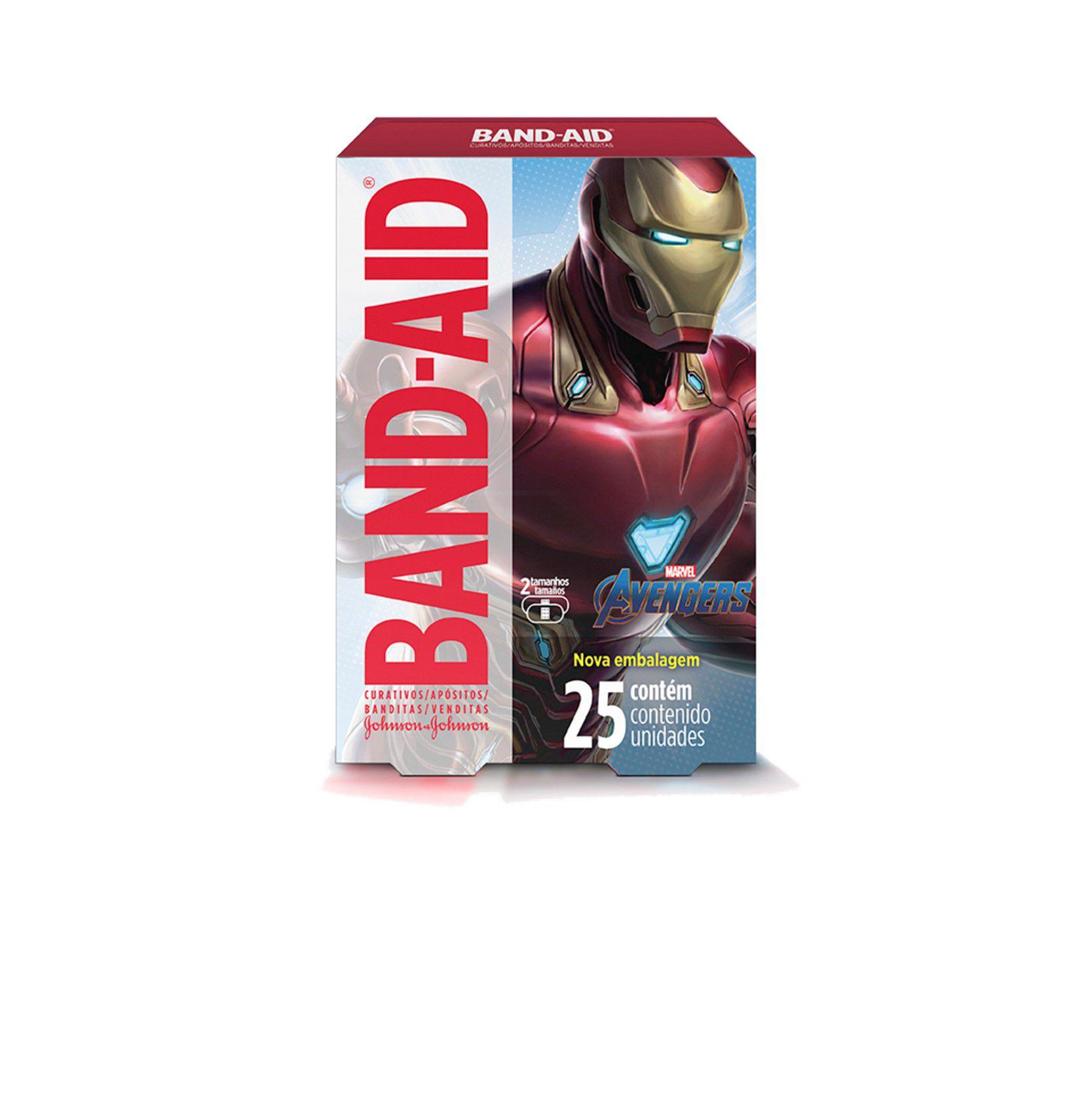 Curativos Band-Aid Avengers 25 Unidades