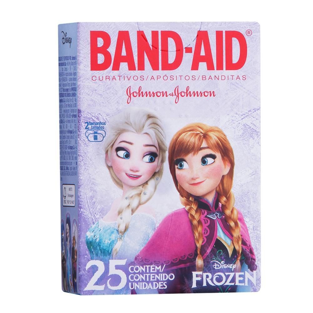 Curativos Band-Aid Frozen 25 Unidades