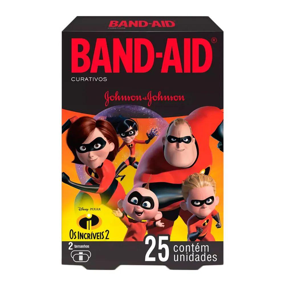 Curativos Band-Aid Incríveis 25 Unidades