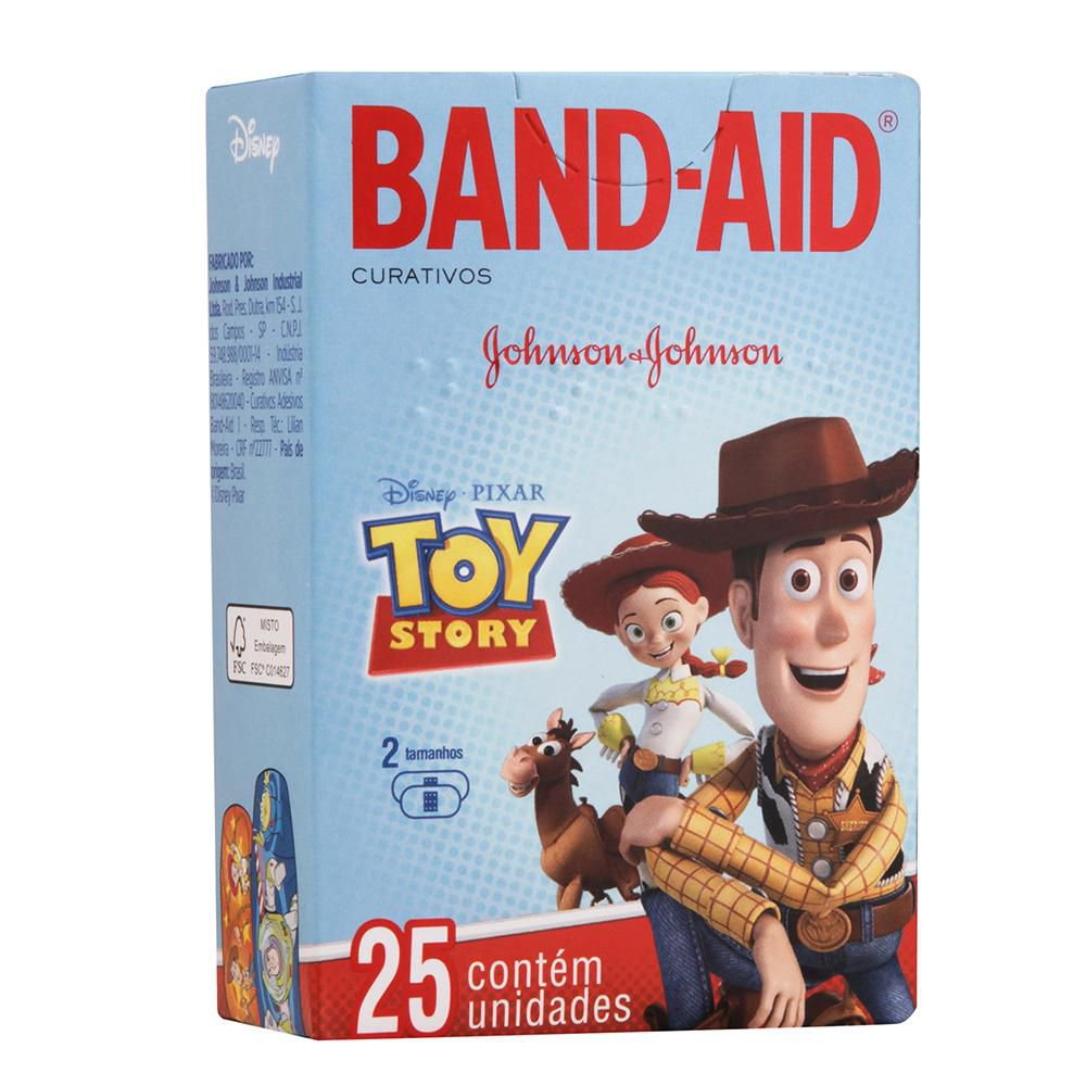 Curativos Band-Aid Toy Story 25 Unidades