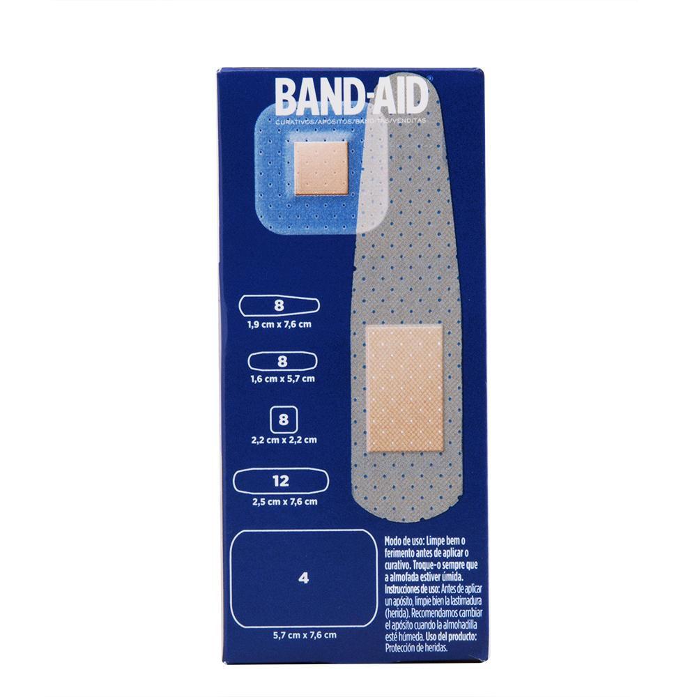 Curativos Band-Aid Variados 40 Unidades
