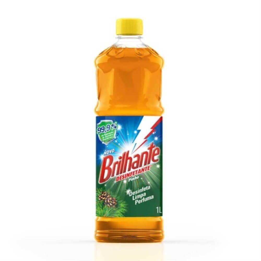 Desinfetante Brilhante Uso Geral Pinho 1l