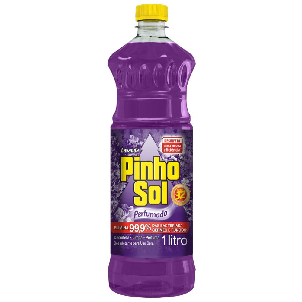 Desinfetante Pinho Sol Lavanda 1L