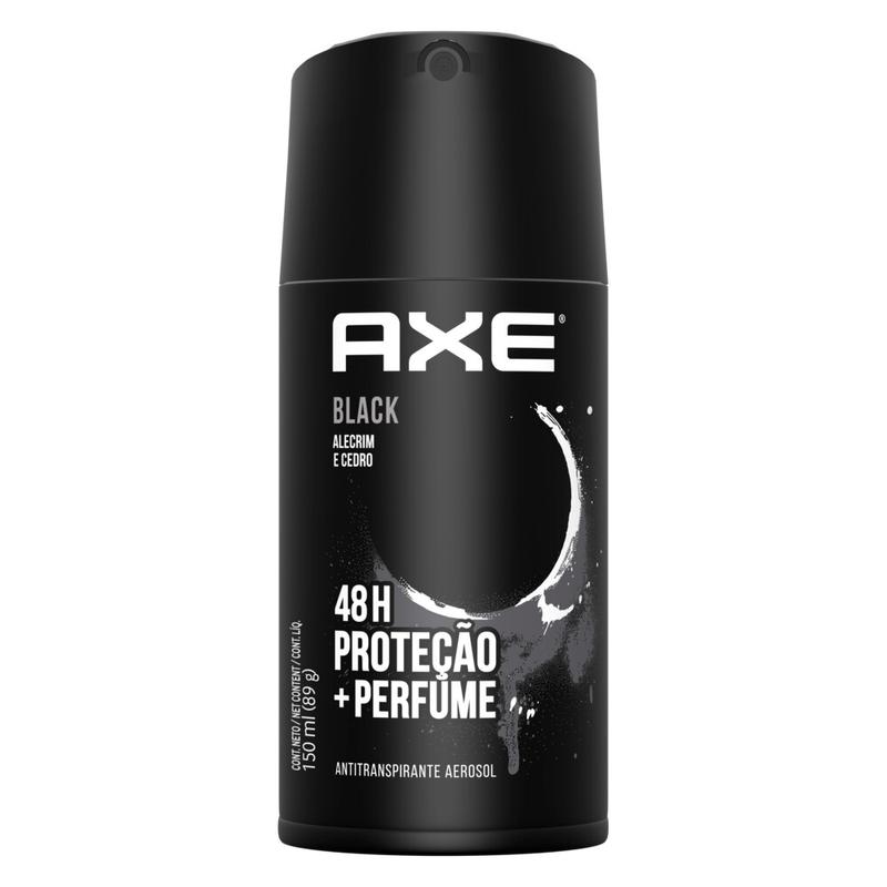Desodorante Antitranspirante Aerosol Seco Axe Black 152ml
