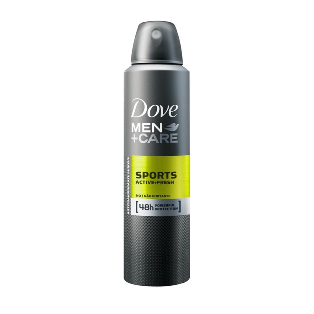 Desodorante Dove Men+Care Antitranspirante Aerossol Sports Active+Fresh 150ml