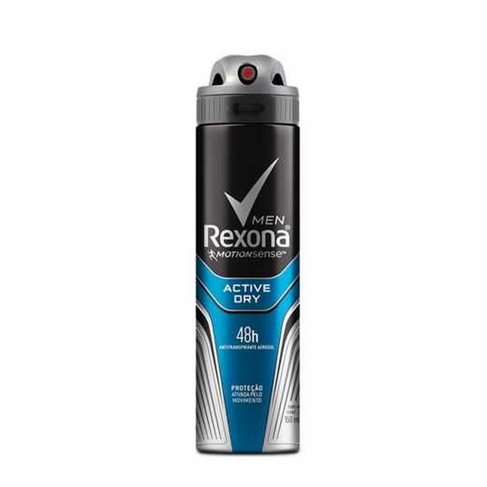 Desodorante Rexona Men Aerossol Antitranspirante Active 150ml