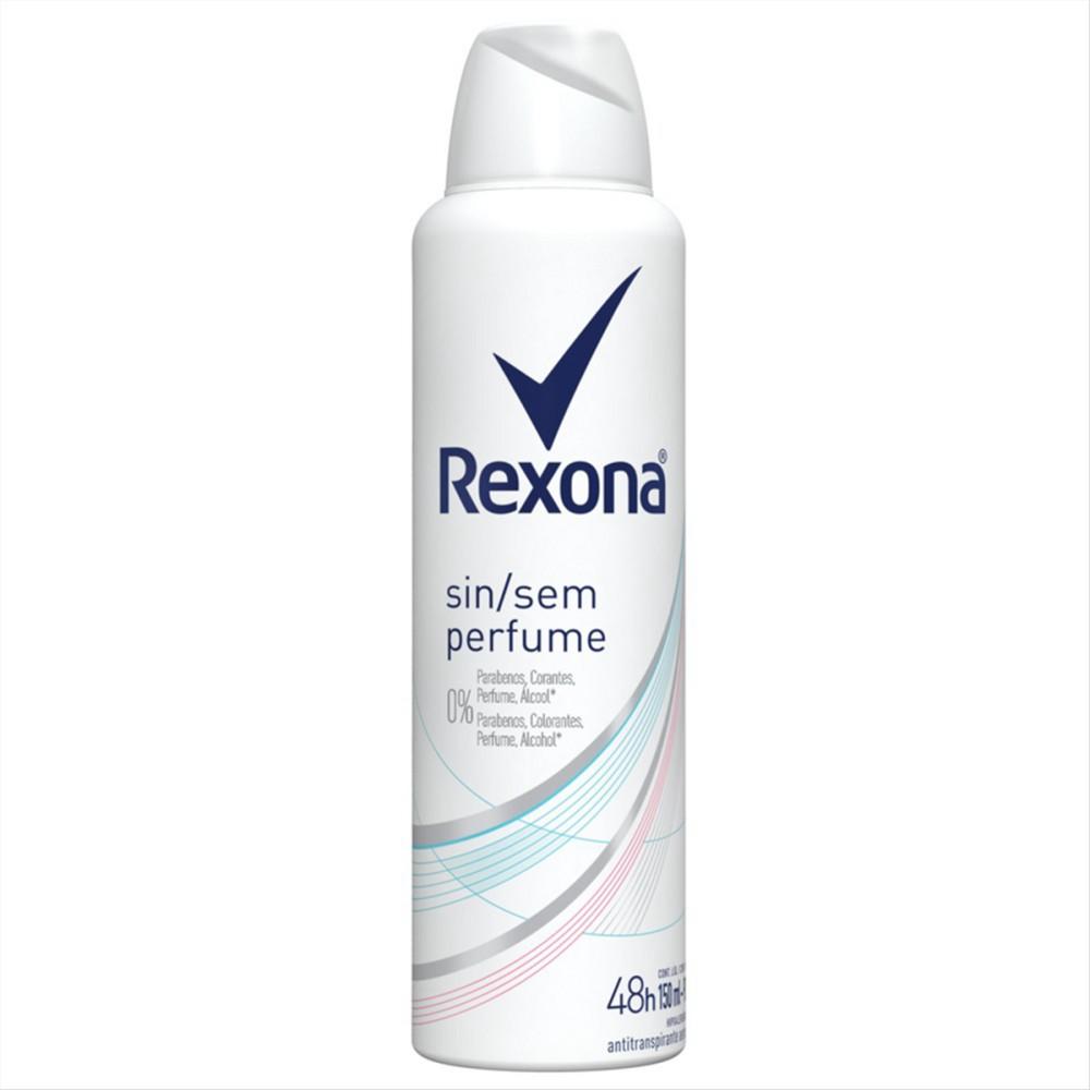Desodorante Rexona Motionsense Antitranspirante Aerossol sem Perfume 150ml