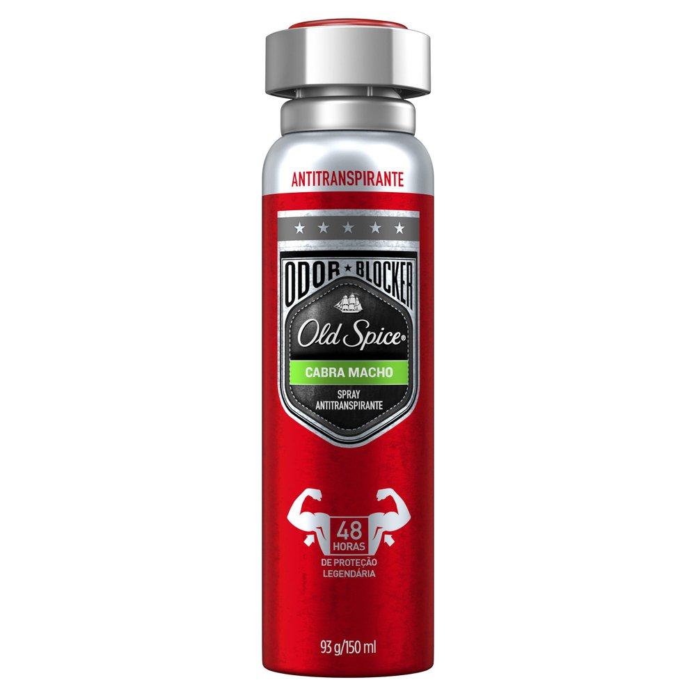 Desodorante Spray Antitranspirante Old Spice Cabra Macho 150mL