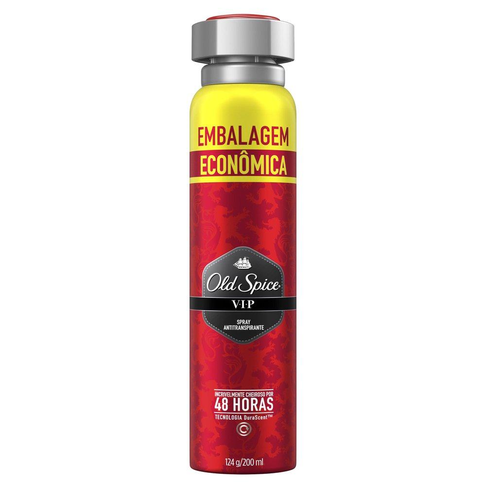 Desodorante Spray Antitranspirante Old Spice Vip 200ml