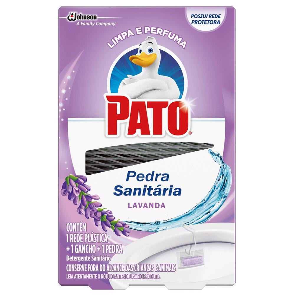 Detergente Sanitário Pato em Pedra com Rede Protetora Lavanda 25g