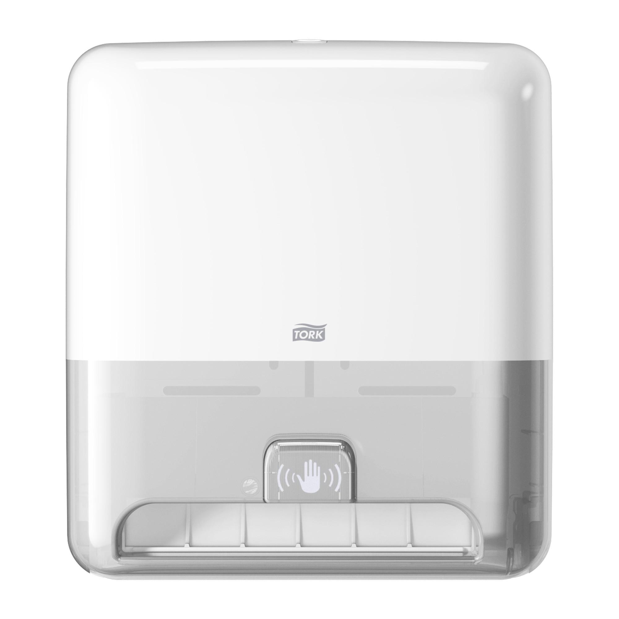Dispenser Tork com Sensor para Papel Toalha Rolo Intuition Branco H1