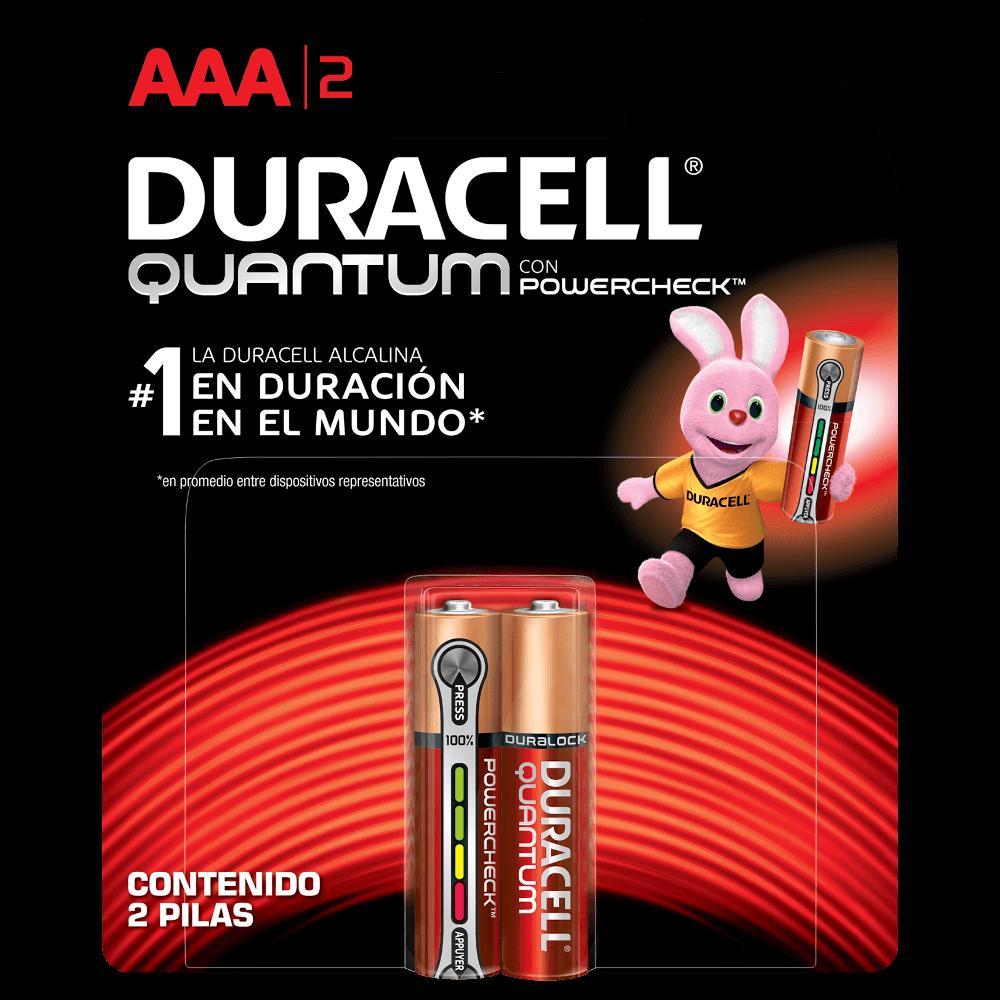 Duracell Pilha Super Alcalina AAA Quantum Leve 4 Pague 3