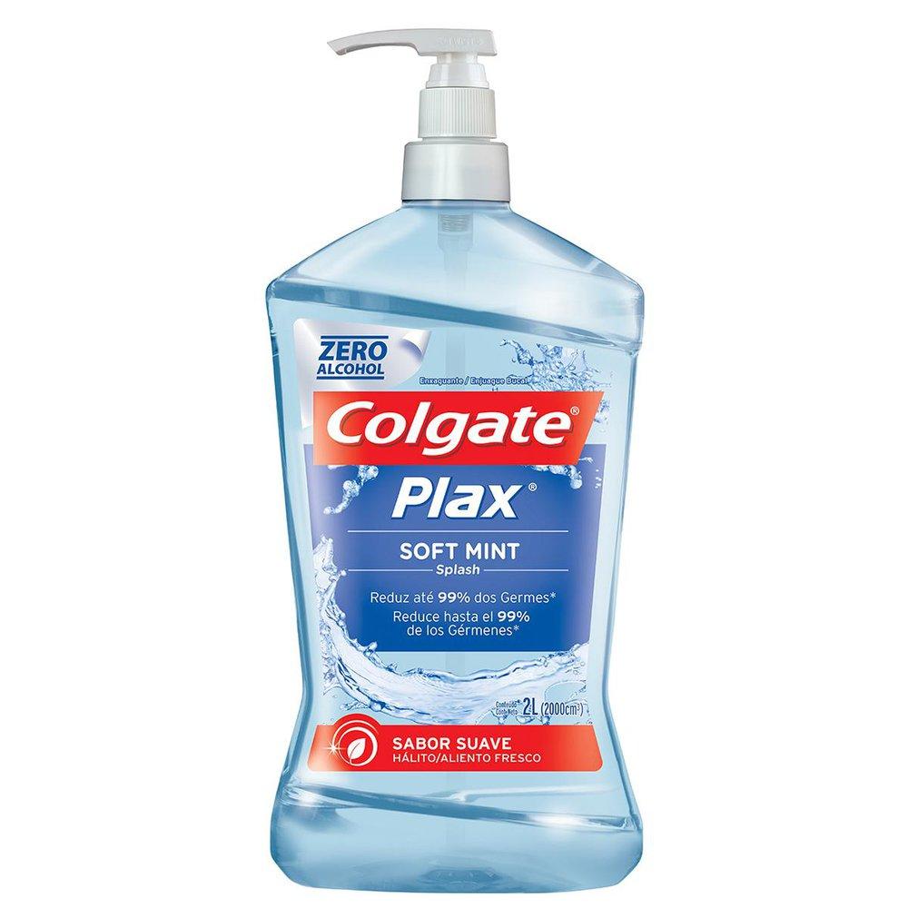 Enxaguante Bucal Colgate Plax Soft Mint 2L