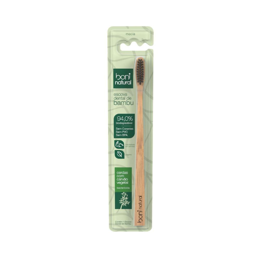 Escova Dental Boni Natural Bambú