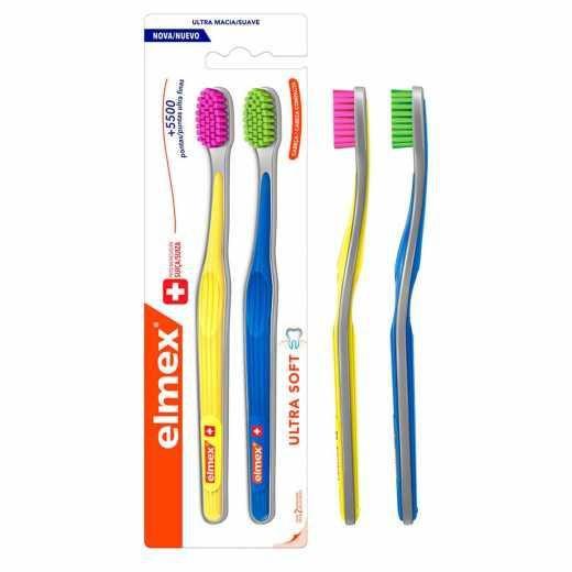Escova Dental Elmex Ultra Soft 2 Unidades