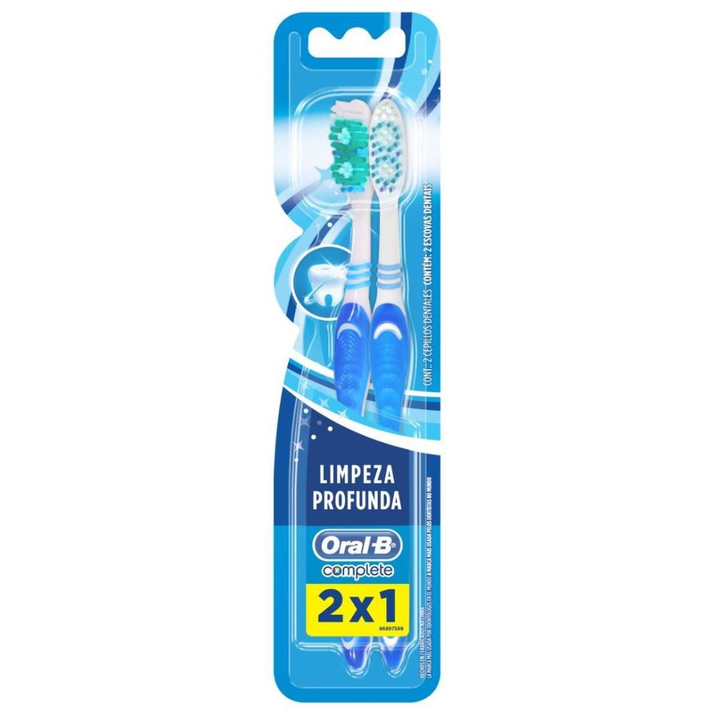 Escova Dental Oral-B Complete 40 Leve 2 Pague 1