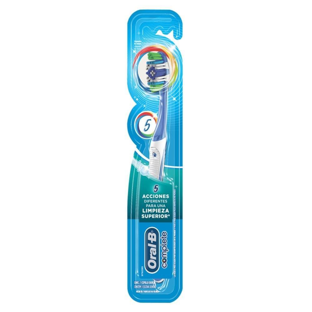 Escova Dental Oral-B Complete 5 Ações de Limpeza 40 Macia